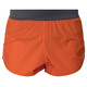 Peak Performance Accelerate Pantaloni corti Uomo grigio/arancione